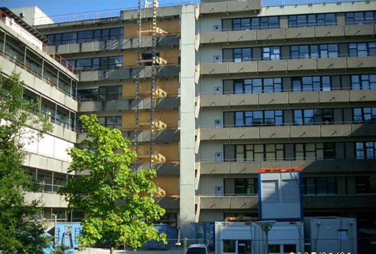 Universität Konstanz, Gebäude M - 1. + 2. BA